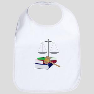Lawyer Symbols Bib