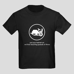Put Your Helmet On Kids Dark T-Shirt