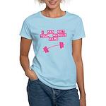 Muscle Hard Droop Women's Light T-Shirt