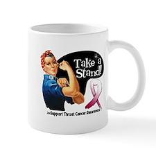 Throat Cancer Take a Stand Mugs