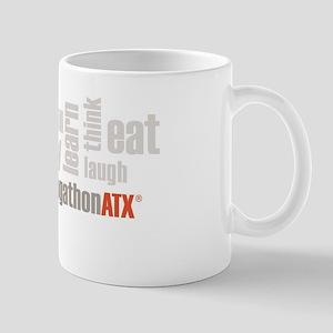 BlogathonATX Red & Gray Mug