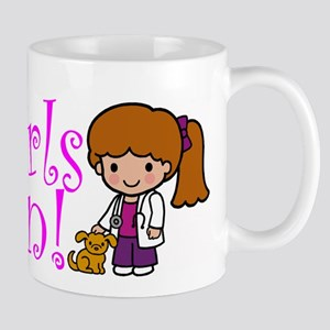 Girl Veterinarian Mug