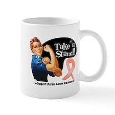 Uterine Cancer Take a Stand Mugs