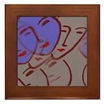Homage To Matisse Framed Tile