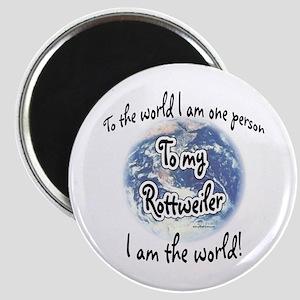 Rottweiler World2 Magnet