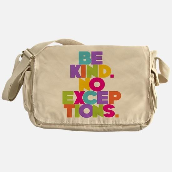 NO EXCEPTION Messenger Bag