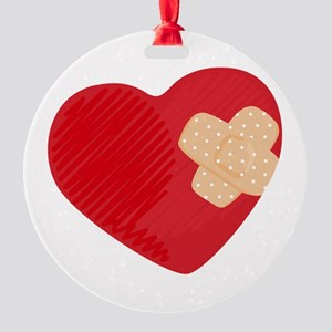 Heart Bandage Ornament