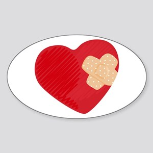 Heart Bandage Sticker