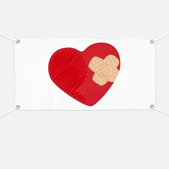 Heart Bandage Banner