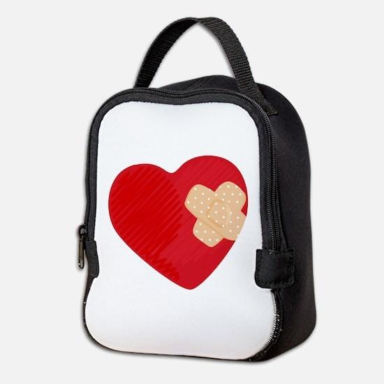 Heart Bandage Neoprene Lunch Bag