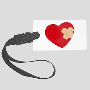 Heart Bandage Luggage Tag