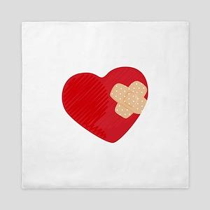 Heart Bandage Queen Duvet