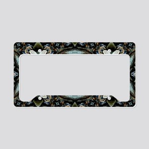 Boho Flower License Plate Holder
