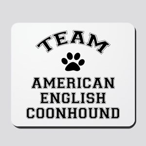 Team Coonhound Mousepad