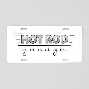Hot Rod Garage Aluminum License Plate