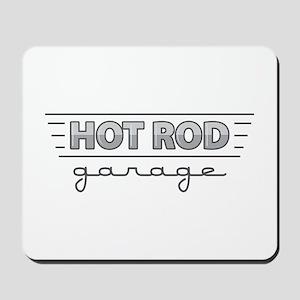 Hot Rod Garage Mousepad
