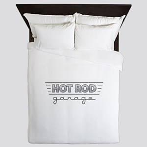 Hot Rod Garage Queen Duvet