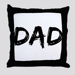 Father's Day Dad Throw Pillow