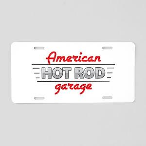 American Hot Rod Garage Aluminum License Plate
