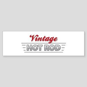 Vintage Hot Rod Bumper Sticker