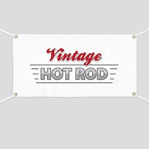 Vintage Hot Rod Banner