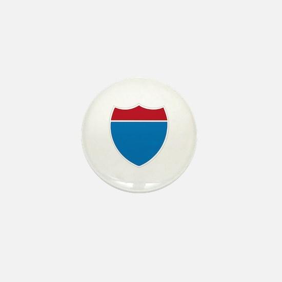 Interstate Sign Mini Button
