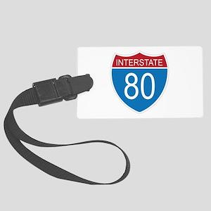 Interstate 80 Luggage Tag