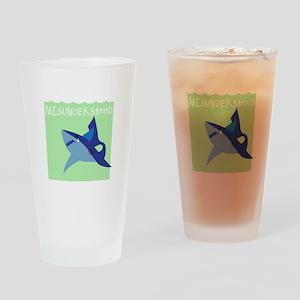 Misunderstood Shark Drinking Glass