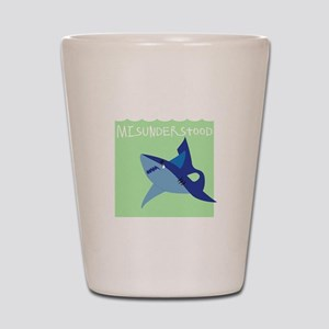 Misunderstood Shark Shot Glass