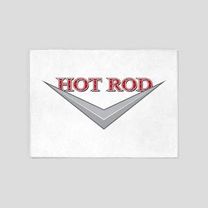 Hot Rod 5'x7'Area Rug