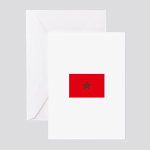 morocco flag Greeting Cards (Pk of 10)