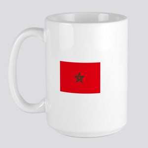 morocco flag Large Mug