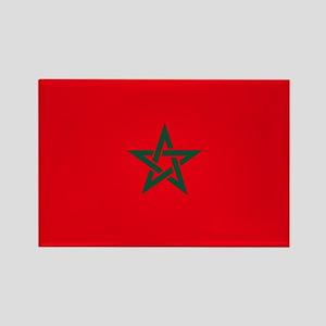 morocco flag Rectangle Magnet