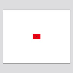 morocco flag Small Poster
