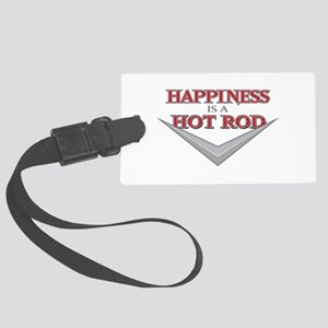 Happiness Is A Hot Rod Luggage Tag