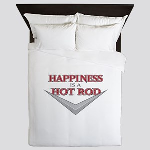 Happiness Is A Hot Rod Queen Duvet