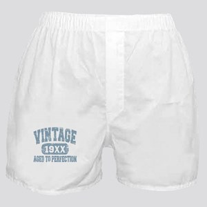 Personalize Vintage Aged To Perfection Boxer Short