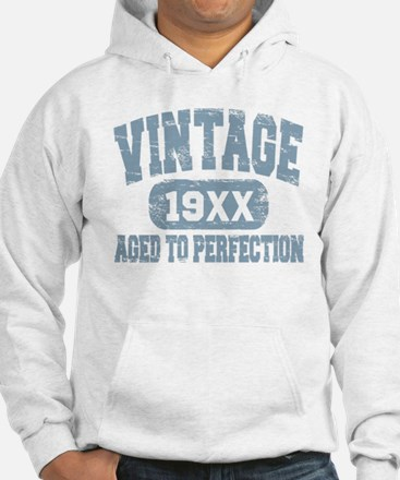 Personalize Vintage Aged To Perfection Hoodie