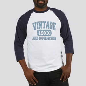 Personalize Vintage Aged To Perfection Baseball Je