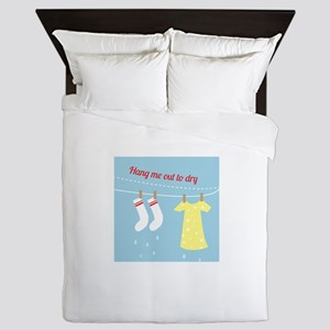 Hang Out To Dry Queen Duvet