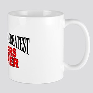 """The World's Greatest Bakers Helper"" Mug"