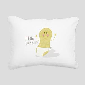 Little Peanut Rectangular Canvas Pillow
