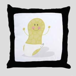 Baby Peanut Throw Pillow