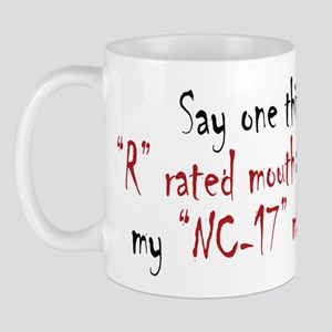 R-Rated Mouth Mug
