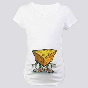 Cheese Head Maternity T-Shirt