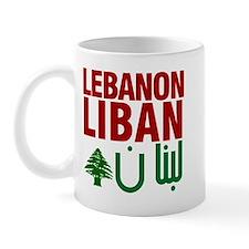 Lebanon Liban Libnan | Mug