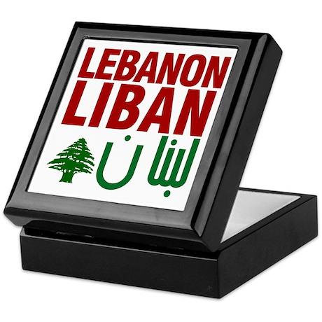 Lebanon Liban Libnan | Keepsake Box