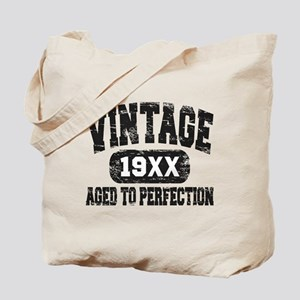 Personalize Vintage Aged To Perfection Tote Bag