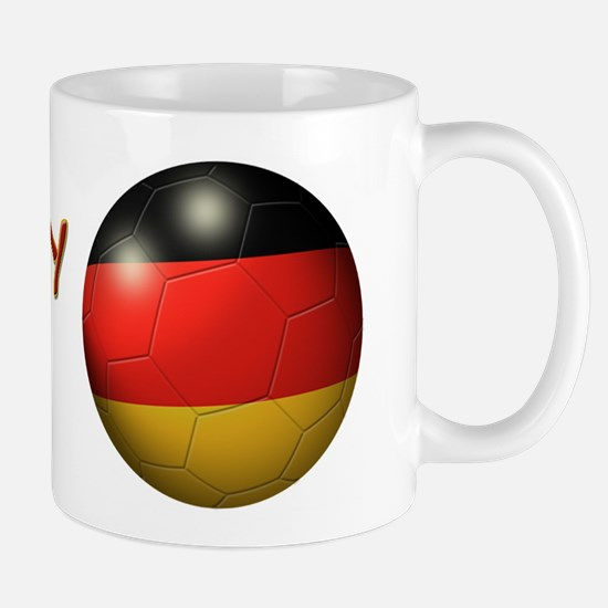 Germany Flag Soccer Ball Mug