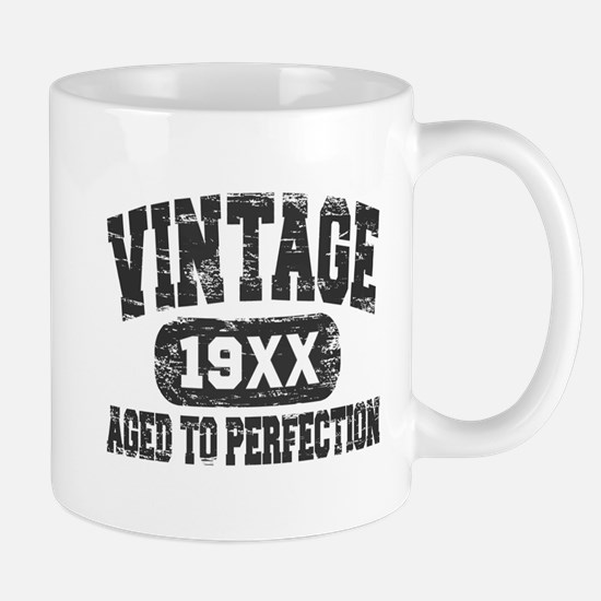 Personalize Vintage Aged To Perfection Mugs